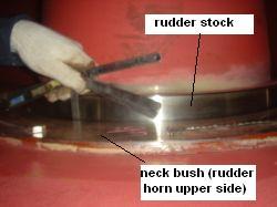 rudder_swing-neck_bush_clearance